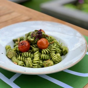 CHICKEN PESTO FUSILLI 1